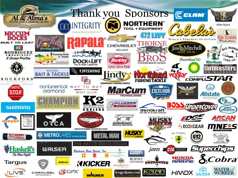 Westonka walleye program 501c3 a 501c3 non profit for Fishing sponsorship application